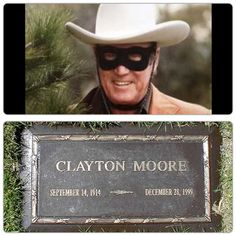Clayton Moore buried at Forest Lawn Memorial Park, Glendale, California