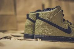 Nike SB Dunk High - Brown Paper Bag #sneaker #fridom #skate #nike #nikesb