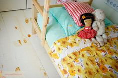 Bright bedding from Under The Sycamore from @Ashley Ann Campbell