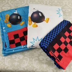 cea26df618 3 pc Nintendo Super Mario Cartoon Character Kids Hero Twin Bed Sheet Set