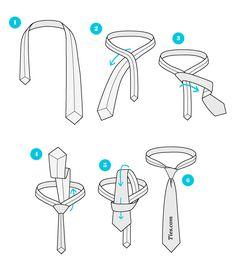 nó simples gravata como fazer