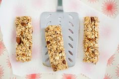 Salted Caramel Granola Bars at Oh My Veggies. Caramel without the refined sugar. I've GOT to try this!