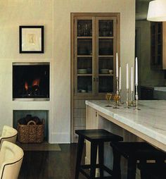 warm & elegant kitchen