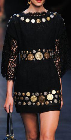 Dolce & Gabbana at Milan Fashion Week Spring 2014