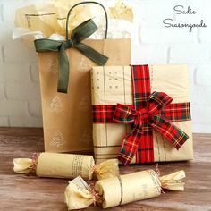 The Good Life Blog | Holiday Gift Wrap the Thrifty Way
