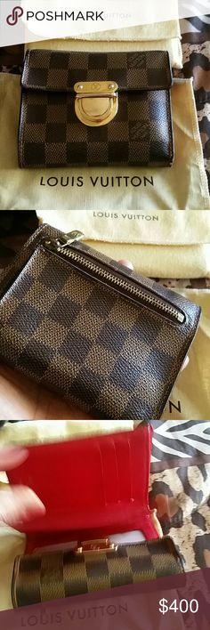 Louis Vuitton wallet damier Authentic Louis Vuitton wallet Louis Vuitton Bags Wallets