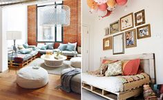 paletes na decoracao - Google Search