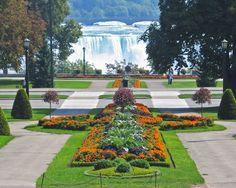 Tourist Destination: Queen Victoria Park, The Niagara Falls Niagara Falls Attractions, Niagara Falls Ontario, Clifton Hill Niagara Falls, Tea Rose Garden, Fall Vacations, Vacation Destinations, Vacation Spots, Vacation Ideas, Autumn In New York