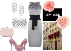 wedding guest attire, created by leahpeterson on Polyvore