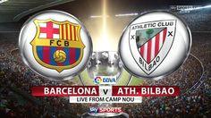 Live – Barcelona vs Athletic Bilbao