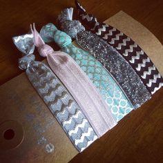 Creaseless Hair Tie Bracelets: Ingrid by eastendbows on Etsy