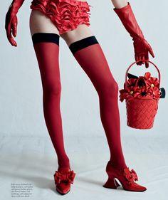 Natasha Poly by Tim Walker for Love Magazine SS 2014