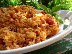 Mexican Rice from Food.com: this is a variation of my grandmother's mexican rice. Just as a side note, after you remove the rice from the heat, keep it covered for the whole 15 minutes. The residual heat finishes cooking the rice.
