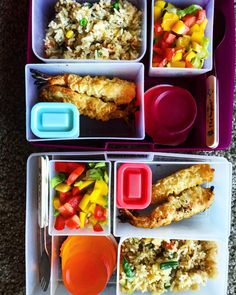 Chipotle chicken bake with food network magazine and minute rice bento lunch box idea shrimp tempura homemade fried rice fresh garden salad and forumfinder Image collections