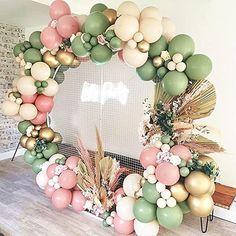Gold Confetti Balloons, Pink Balloons, Birthday Balloons, Foil Balloons, Birthday Party Decorations, Baby Shower Decorations, Birthday Parties, Gender Reveal Decorations, Happy Birthday