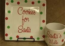Cricut Christmas Vinyl Projects - Bing Images...I think I could make this myself...Sharpie pen, oven safe dishes & bake for 30 minutes...