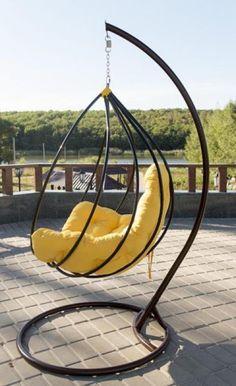 Herman Miller Aeron Chair Size B Hanging Egg Chair, Hanging Furniture, Iron Furniture, Swinging Chair, Steel Furniture, Home Decor Furniture, Industrial Furniture, Pallet Furniture, Garden Furniture