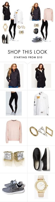 """The Cover Up – Jackets by Superdry: Contest Entry"" by abbyknop ❤ liked on Polyvore featuring Superdry, Alala, Joseph, Topshop, ASOS, adidas, Chico's and Apple"