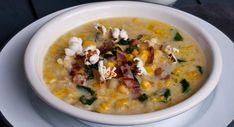Soupe de maïs 20 Min, Cheeseburger Chowder, Gluten, Nutrition, Healthy Recipes, Cooking, Desserts, Foodies, Pop Corn