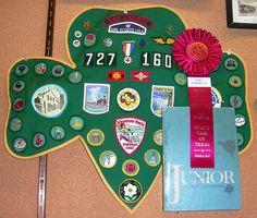 Girl Scout Badge-Lyn Robinette, 2012