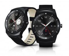 El teléfono inteligente (smartwatch) G Watch R de LG
