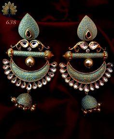 Jewellery Stores Rouse Hill, Jewellery Stores Hong Kong in Jewellery Online Nz jeder Schmuck Dish Indian Jewelry Earrings, Head Jewelry, Jewelry Design Earrings, Indian Wedding Jewelry, India Jewelry, Bridal Jewelry, Jewelery, Silver Earrings, Jhumki Earrings