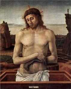 Dead Christ in the Sepulchre - Giovanni Bellini