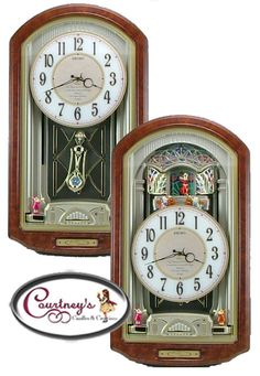 Seiko Musical Clocks On Pinterest Wall Clocks Music