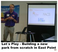 Jefferson Park, a neighborhood in East Point, Georgia won a $20,000 grant from Let's Play to build a brand new park-here's what's happening.