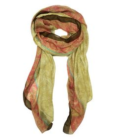 Love this so much I ordered it! From #zulily   Pink & Yellow, and only $9.99, you have to be kidding me, every where else, these scarves go for $45.00 and up, way up, what a steal........<3!