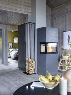 Hytte i nord med friske farger - LADY Inspirasjonsblogg Frisk, Divider, Room, House, Furniture, Home Decor, Country, Tips, Houses