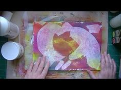 Gesso pages - techniques and ideas of using Gesso.