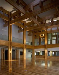 Kengo Kuma & Associates, Yusuhara Town Hall
