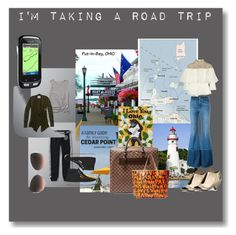 """""""road trip #2"""" by art-gives-me-life ❤ liked on Polyvore featuring Alexander McQueen, Abercrombie & Fitch, Marsèll, Nolita, Linda Farrow, Garmin and roadtrip"""