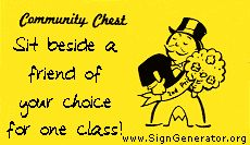 Make your own Community Chest cards. Another great idea for a Monopoly themed classroom! Monopoly Classroom, Monopoly Theme, Future Classroom, School Classroom, Classroom Activities, Monopoly Party, Classroom Prizes, Classroom Decor Themes, Classroom Organization