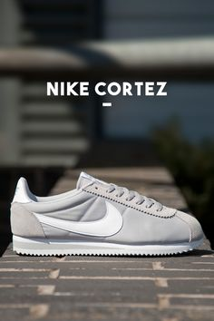 Nike Cortez: Light Grey