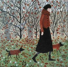 """michele blondin on Twitter: """"… """" Art And Illustration, Naive Art, Dog Art, Watercolor Paintings, My Arts, Art Prints, Drawings, Artwork, Picts"""