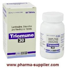 Triomune (Lamivudine 30mg, Stavudine 150mg and Nevirapine 200mg Tablets) | pharma supplier | Scoop.it