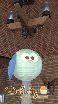 Lamp - Owl party