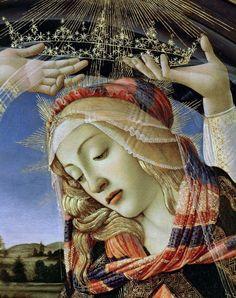 Sandro Botticelli - Magnificat Madonna (detail)