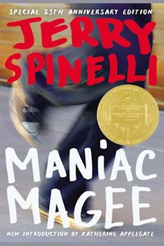 This month, Little, Brown is releasing a edition of 'Maniac Magee,' the Newbery Medal-winning bestseller by Jerry Spinelli. Maniac Magee, The Tale Of Despereaux, Growth Mindset Book, Newbery Medal, Books Everyone Should Read, Essay Questions, Book Stands, Reading Online, Book Review