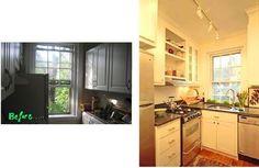 Smallest Coolest Kitchen 2007 Entry #7: Phoebe's Crisp Organic Space