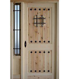 Resultado de imagen de puertas rústicas exterior Wood Entry Doors, Rustic Doors, Entrance Doors, Wooden Gates, Wooden Doors, Porta Colonial, Antique French Doors, Cedar Homes, Diy Door