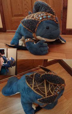 Quaggan backpack by Koreena.deviantart.com on @deviantART