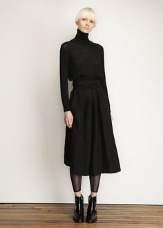 Rachel Comey Cropped Pullover (Black)