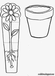 Fen doğa Preschool Science, Preschool Worksheets, Kindergarten Activities, Preschool Activities, Spring Activities, Art Activities, Art For Kids, Crafts For Kids, Planting For Kids