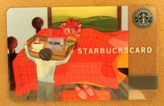 Starbucks Card **COFFEE IN BED** Mothers Day 2003 w/sleeve - Rare & Hard to Find #Starbucks