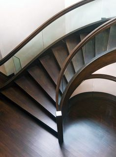 Walnut Stairs By Charles Cunniffe Architects Great Ideas