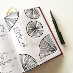 Monthly log / bullet journal / bujo / layout / march / drawing