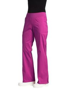 TAFFORD UNIFORMS: White Cross Allure Yoga Stretch Knit Waist Pant, Fuchsia, 3X-Large Buy Now $26.99 Find at Faearch